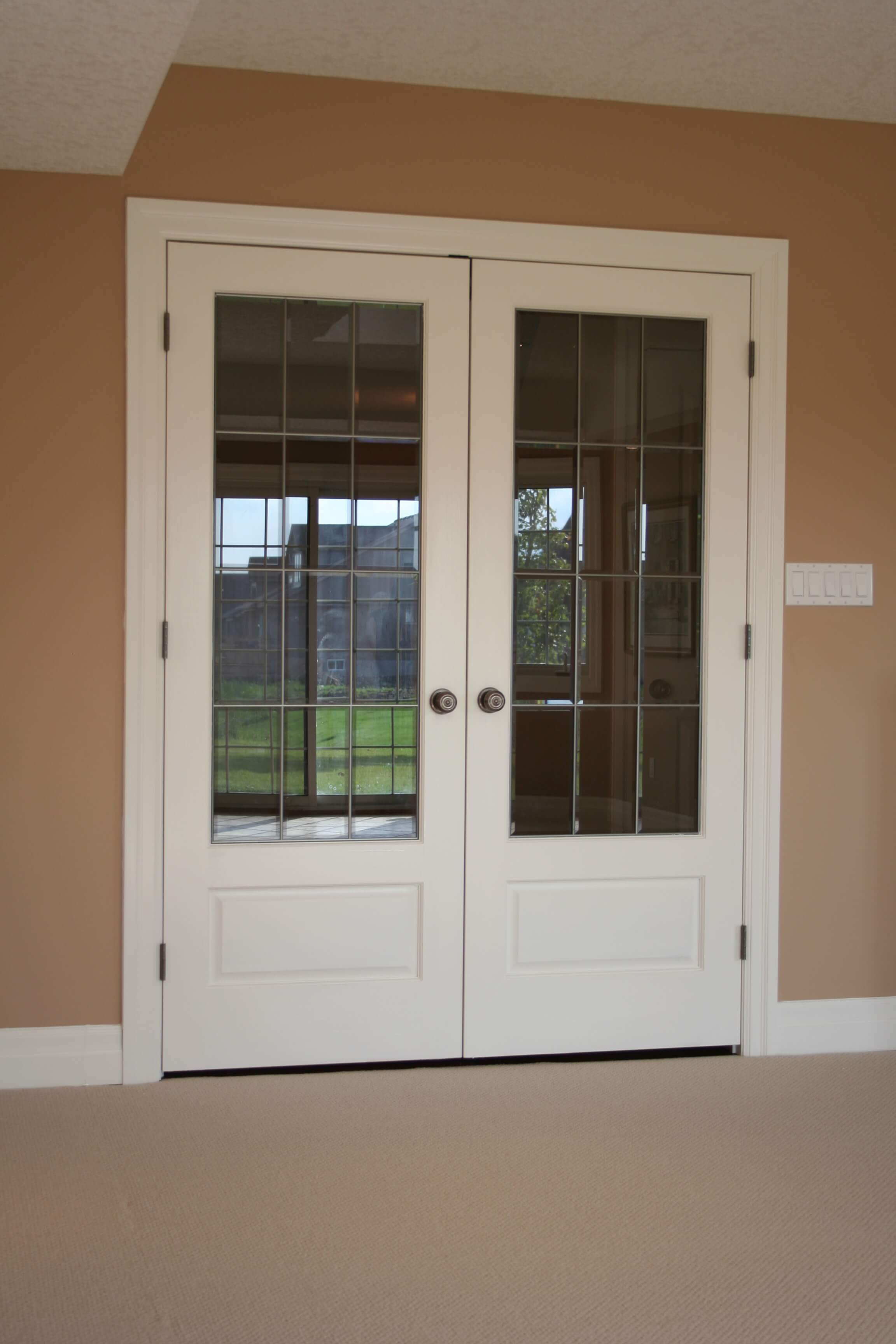 pantry basement pin painted gray door sherwin doors williams in dovetail and